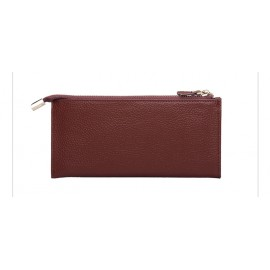 Women's Wallet Genuine Leather Female Purses Ladies Long Purse Handle Clutch Wallets For Phone Bags Money Bag Card Holder Clutch